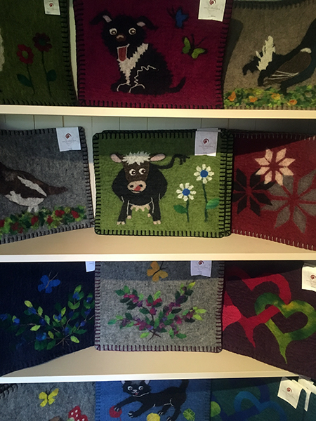 Felted placemats