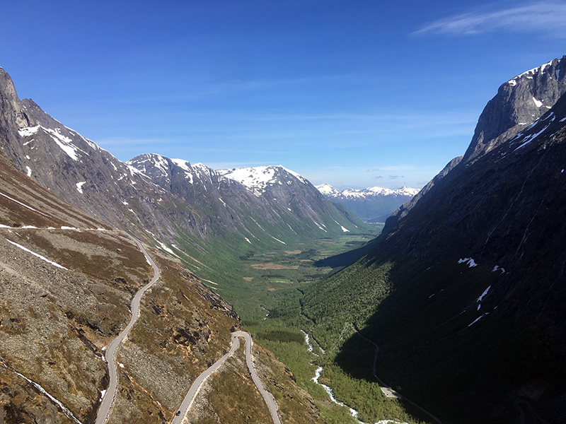Road to Trollstiggen