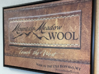 Mountain Meadow Wool sign